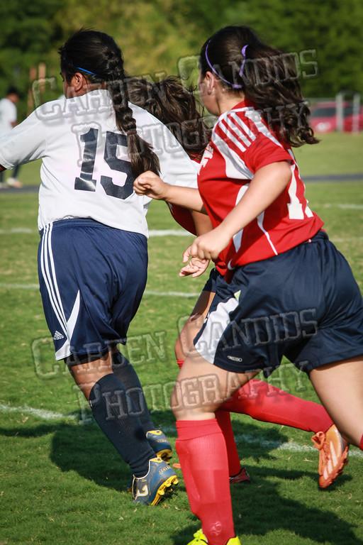 North Davie Girls Soccer vs Forbush 9-11-14-356