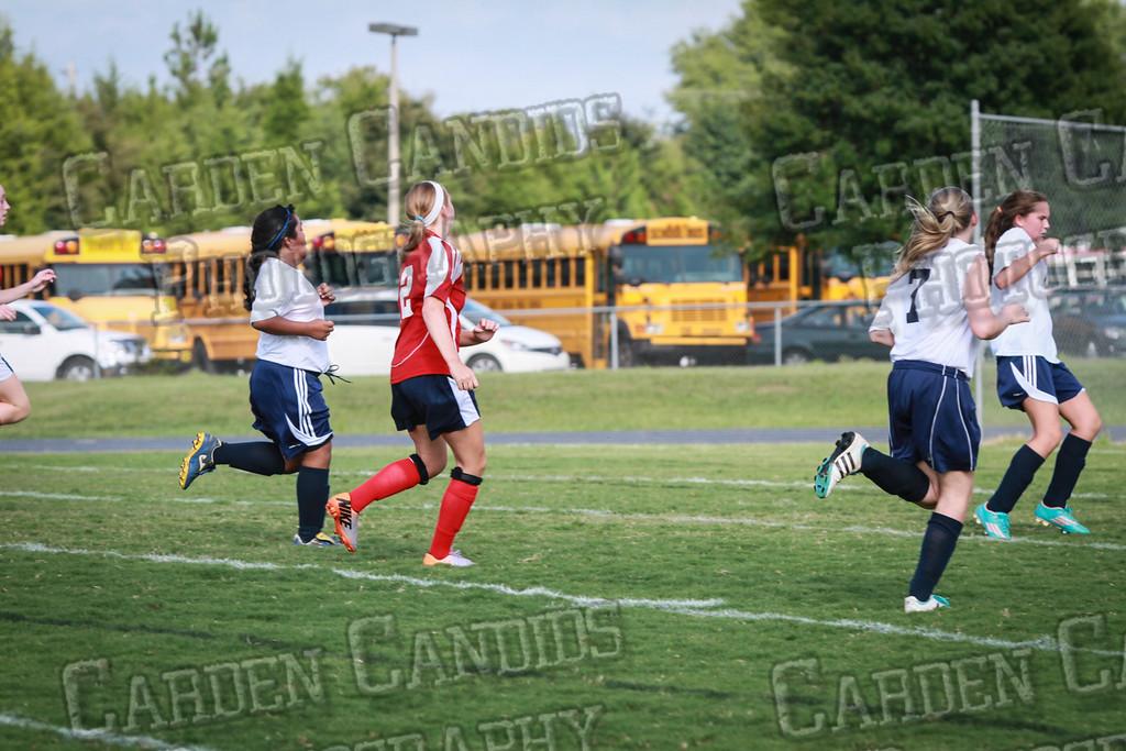 North Davie Girls Soccer vs Forbush 9-11-14-341