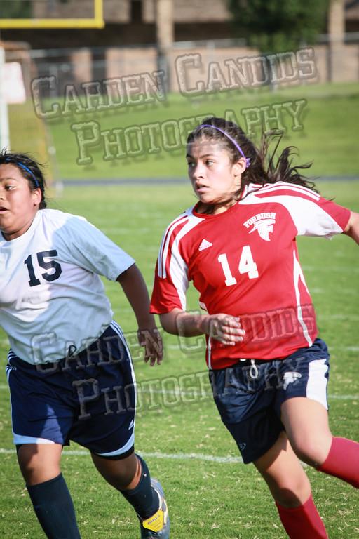 North Davie Girls Soccer vs Forbush 9-11-14-357