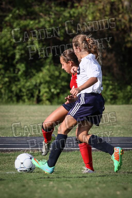 North Davie Girls Soccer vs Forbush 9-11-14-321