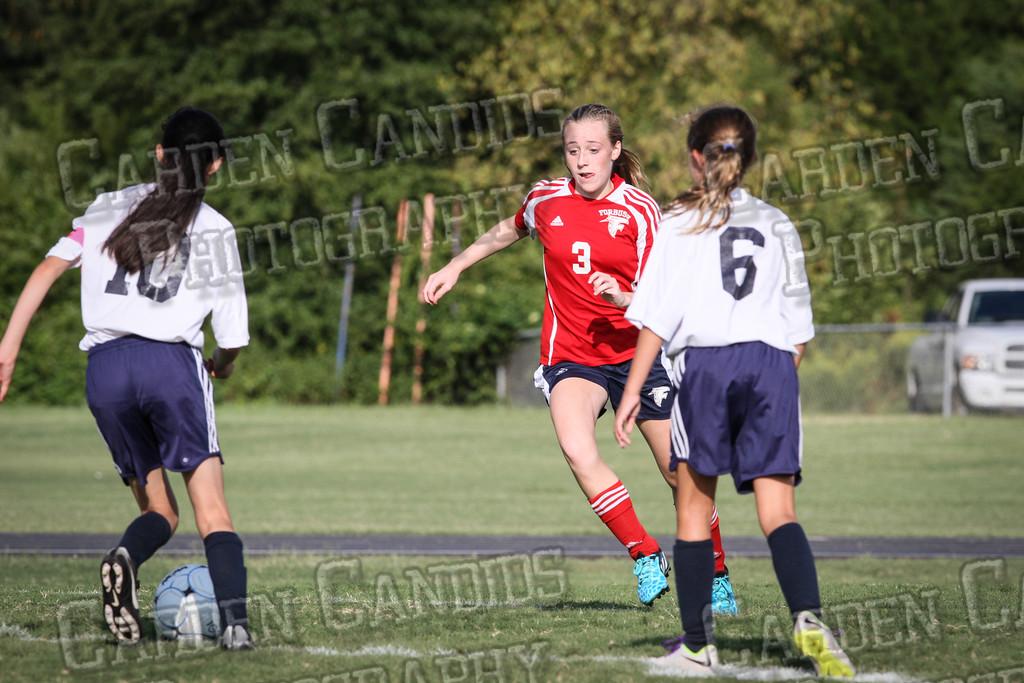 North Davie Girls Soccer vs Forbush 9-11-14-309