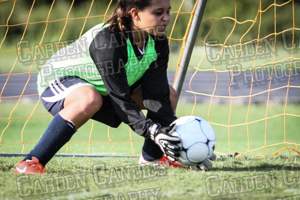 North Davie Girls Soccer vs Forbush 9-11-14-327