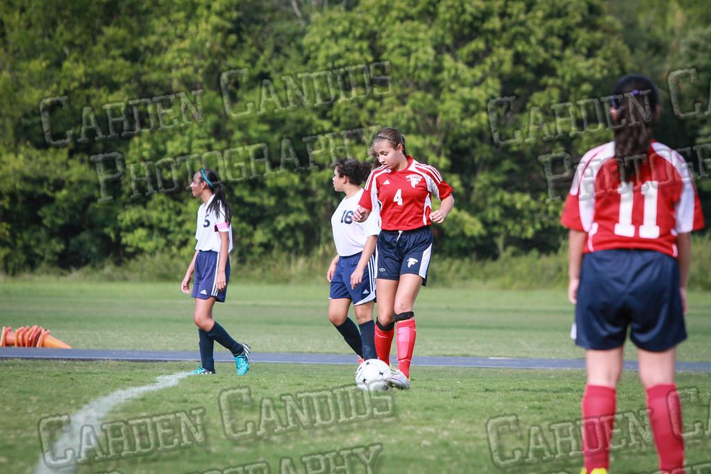North Davie Girls Soccer vs Forbush 9-11-14-352