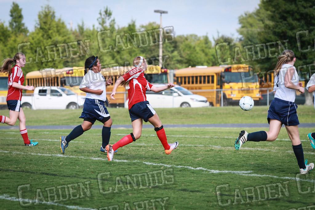North Davie Girls Soccer vs Forbush 9-11-14-340