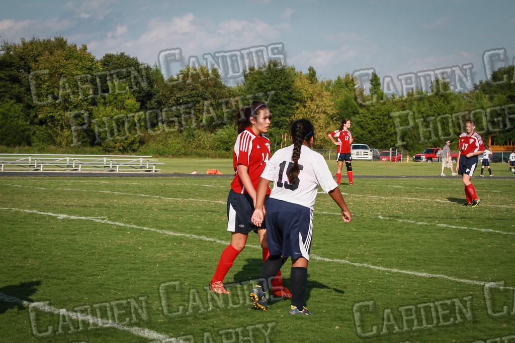 North Davie Girls Soccer vs Forbush 9-11-14-360