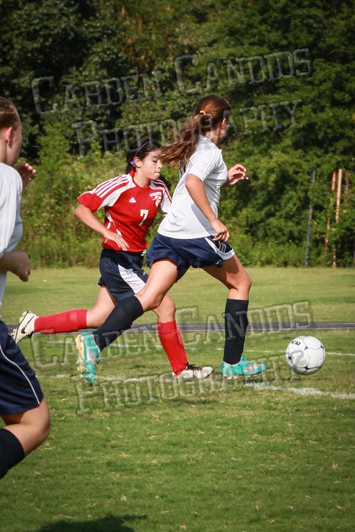 North Davie Girls Soccer vs Forbush 9-11-14-344