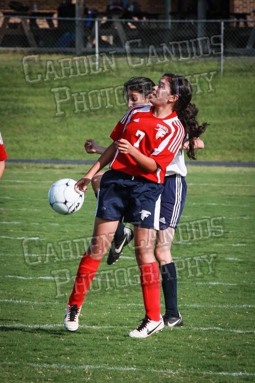 North Davie Girls Soccer vs Forbush 9-11-14-362