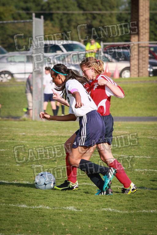 North Davie Girls Soccer vs Forbush 9-11-14-363