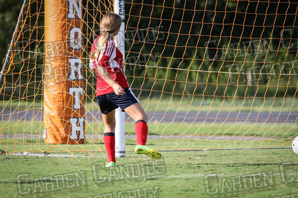 North Davie Girls Soccer vs Forbush 9-11-14-338