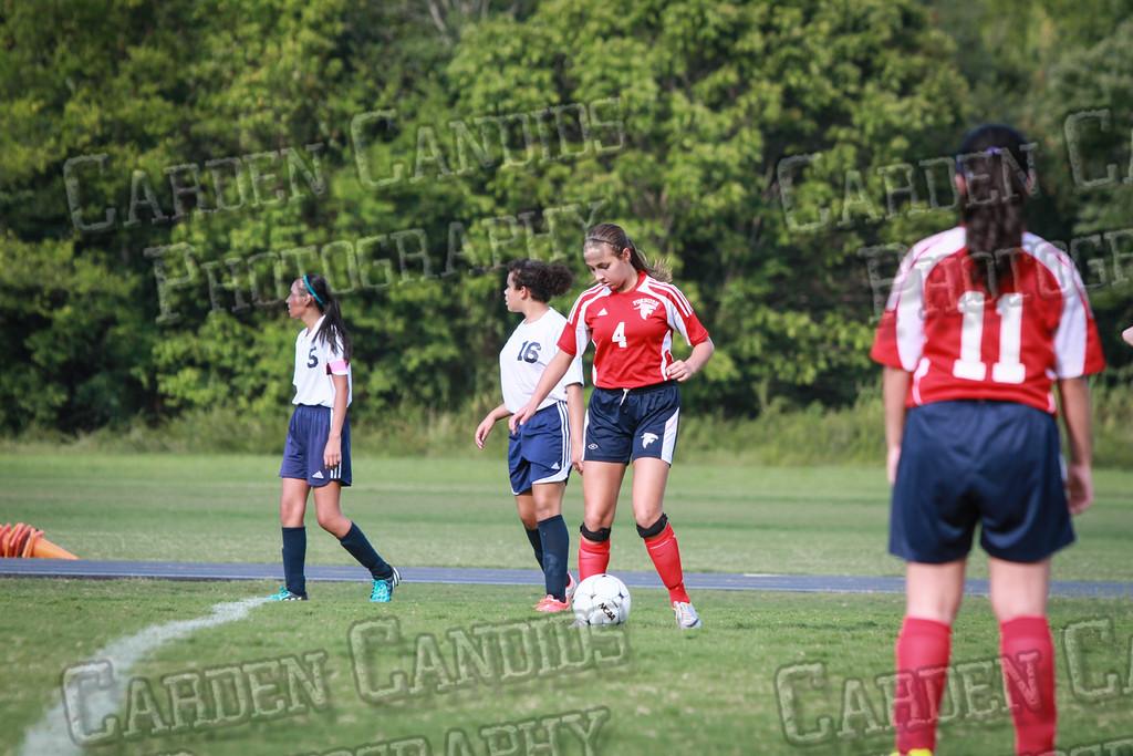 North Davie Girls Soccer vs Forbush 9-11-14-351