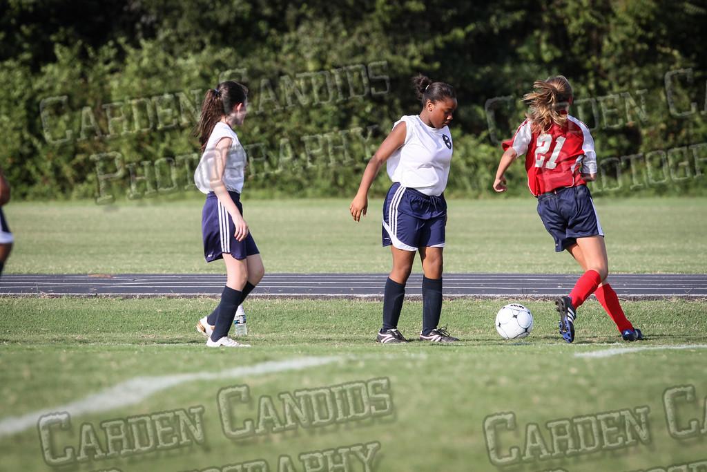 North Davie Girls Soccer vs Forbush 9-11-14-334