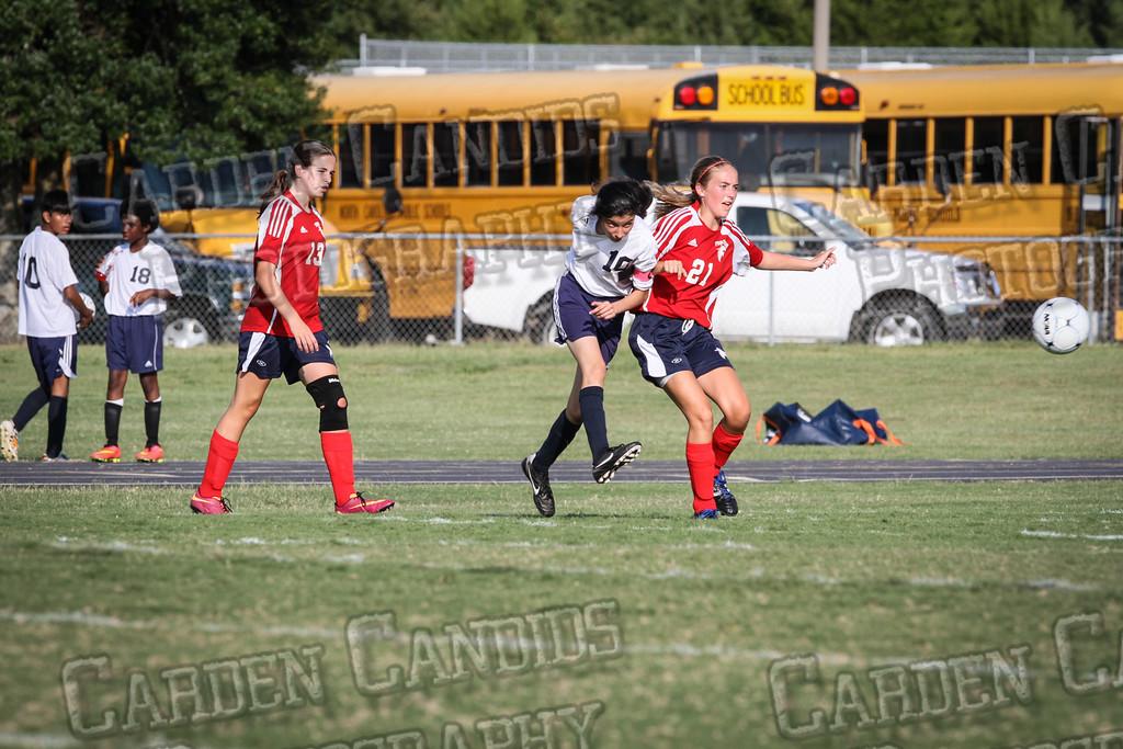North Davie Girls Soccer vs Forbush 9-11-14-316