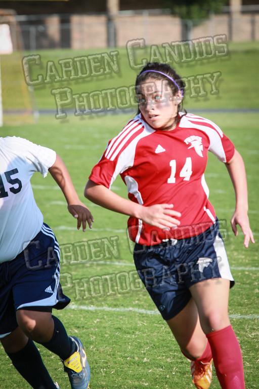 North Davie Girls Soccer vs Forbush 9-11-14-358