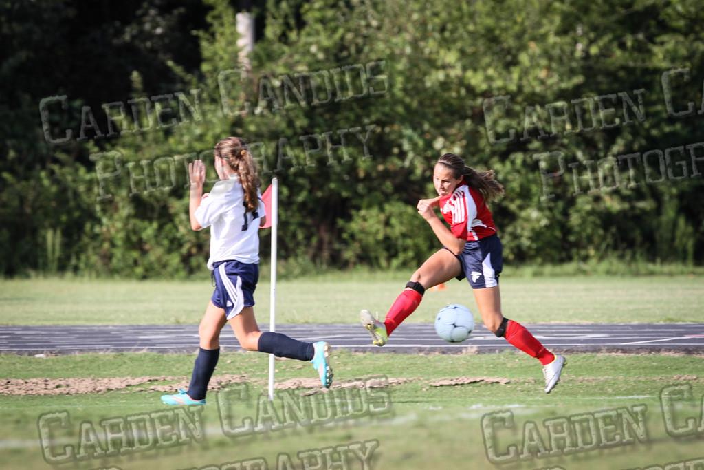 North Davie Girls Soccer vs Forbush 9-11-14-324