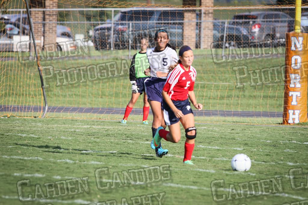 North Davie Girls Soccer vs Forbush 9-11-14-318