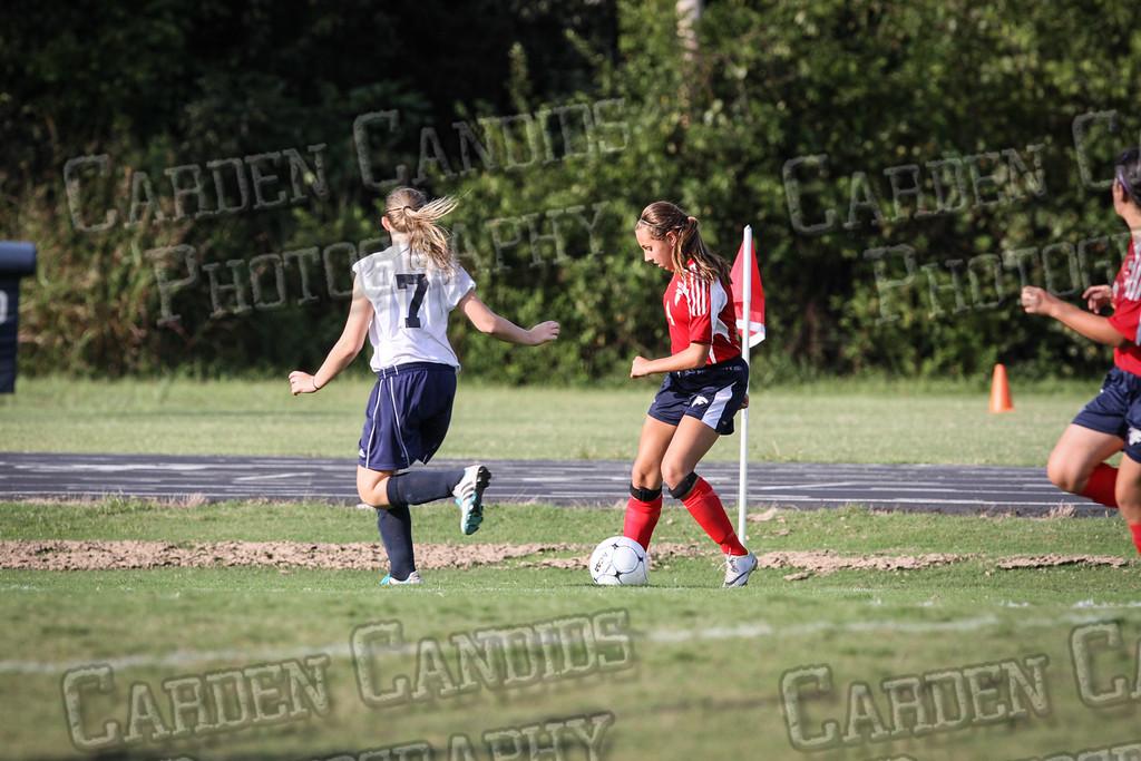 North Davie Girls Soccer vs Forbush 9-11-14-335