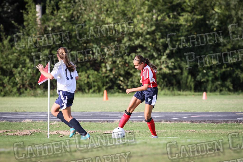 North Davie Girls Soccer vs Forbush 9-11-14-323