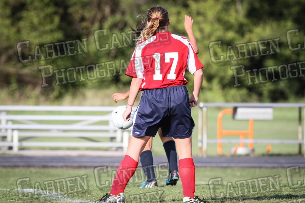 North Davie Girls Soccer vs Forbush 9-11-14-331