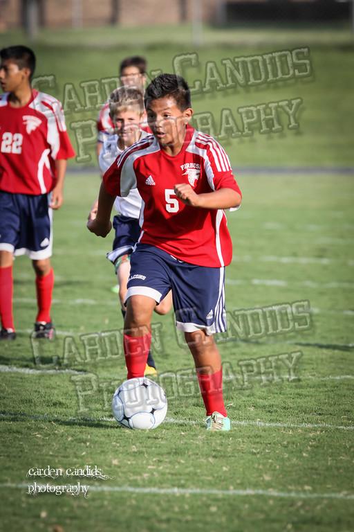 North Davie Boys Soccer vs Forbush 9-11-14-033
