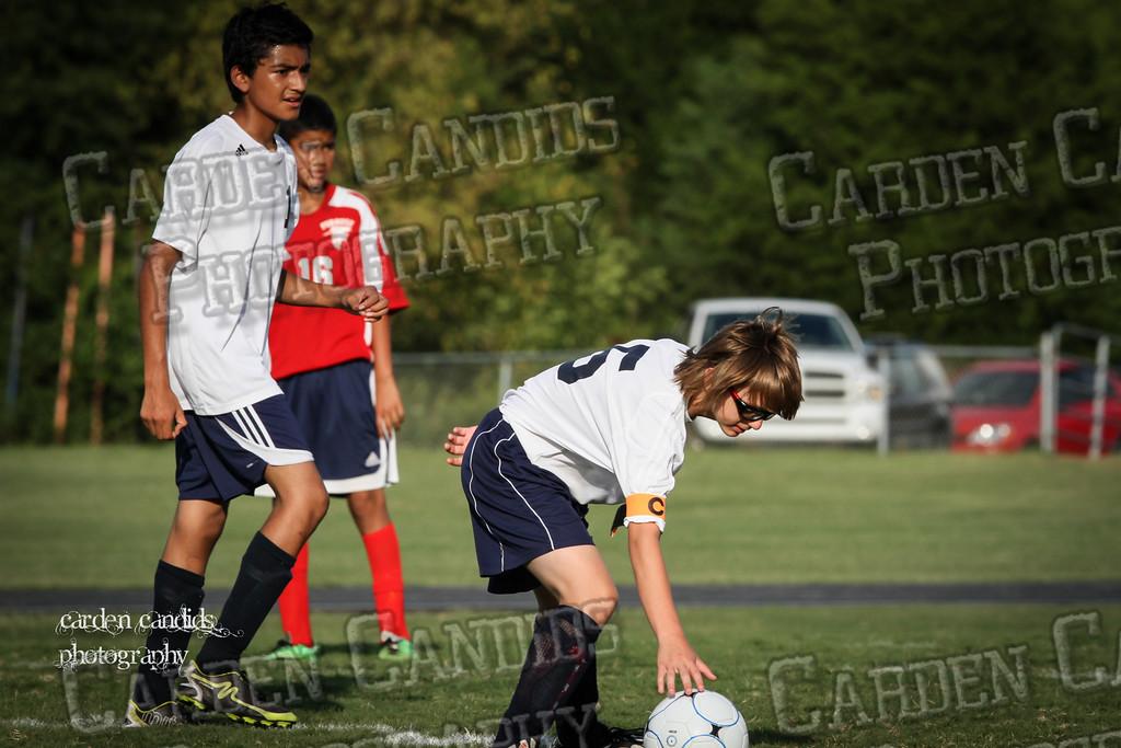 North Davie Boys Soccer vs Forbush 9-11-14-026