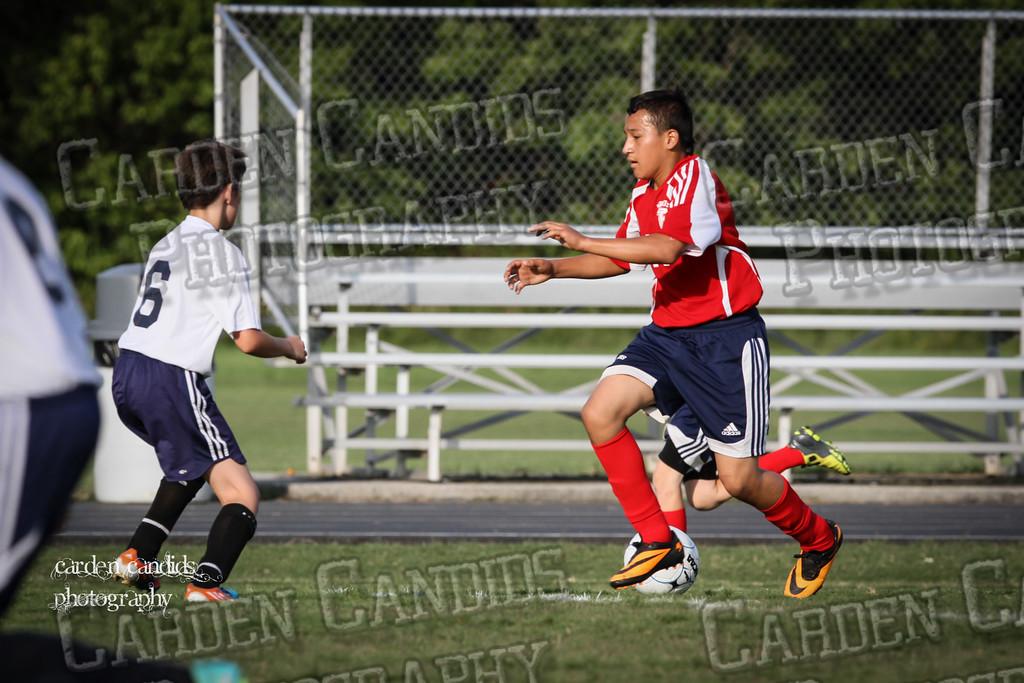 North Davie Boys Soccer vs Forbush 9-11-14-063