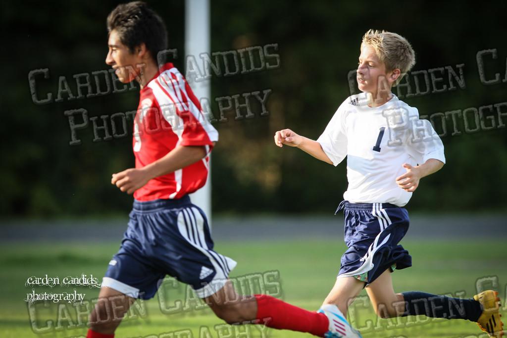 North Davie Boys Soccer vs Forbush 9-11-14-043