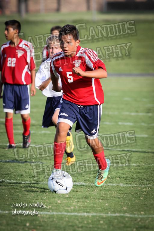 North Davie Boys Soccer vs Forbush 9-11-14-034