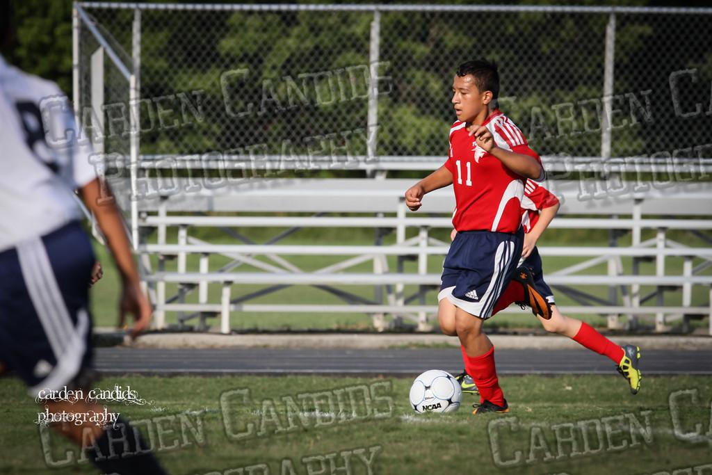 North Davie Boys Soccer vs Forbush 9-11-14-062