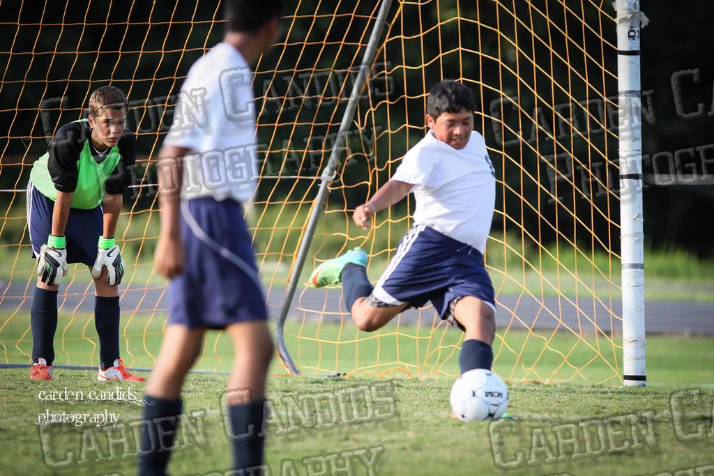 North Davie Boys Soccer vs Forbush 9-11-14-050