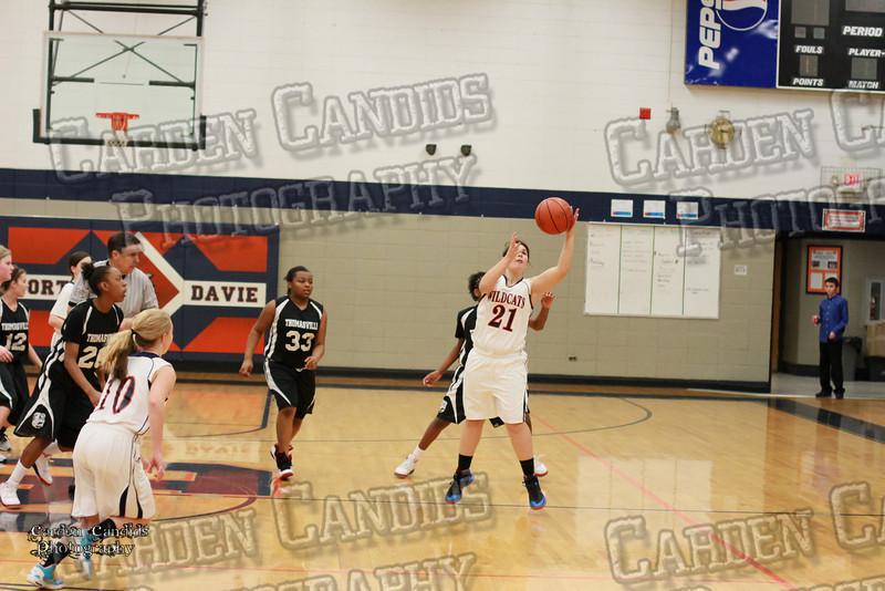Wildcats Girls vs Thomasville 1-13-14-008