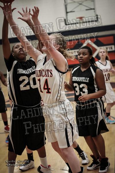 Wildcats Girls vs Thomasville 1-13-14-015