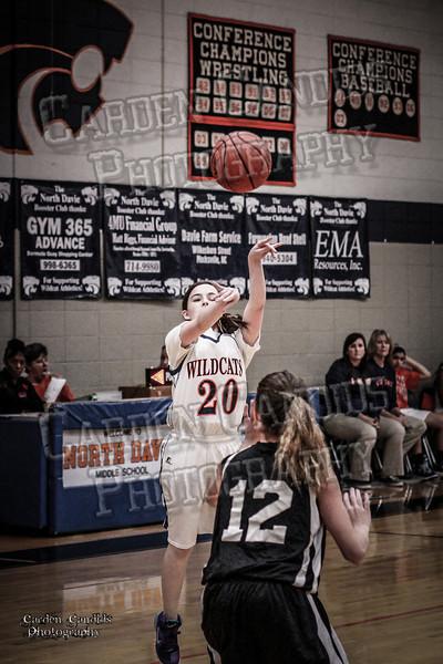 Wildcats Girls vs Thomasville 1-13-14-013