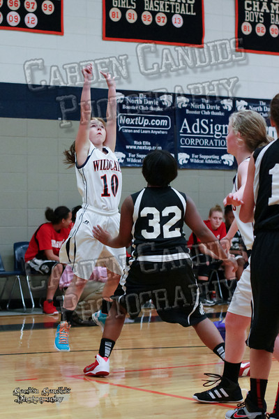 Wildcats Girls vs Thomasville 1-13-14-043