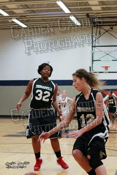 Wildcats Girls vs Thomasville 1-13-14-046