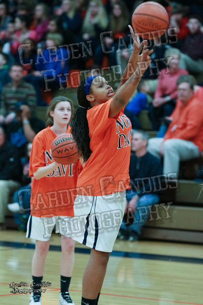 Wildcats Girls vs South Davie 1-27-14-003