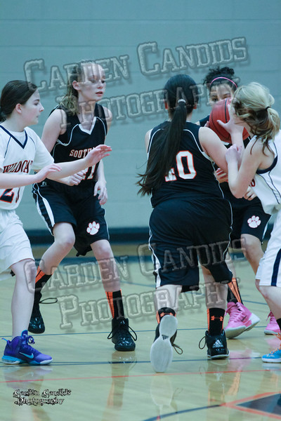 Wildcats Girls vs South Davie 1-27-14-012
