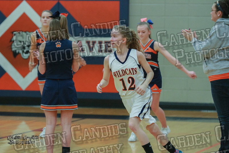 Wildcats Girls vs South Davie 1-27-14-048