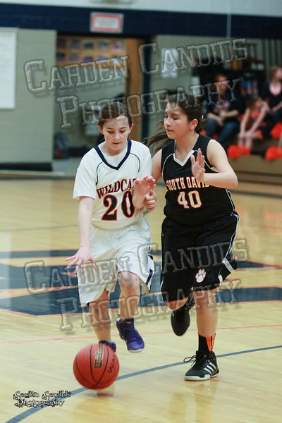 Wildcats Girls vs South Davie 1-27-14-034