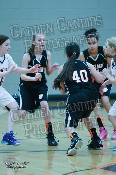 Wildcats Girls vs South Davie 1-27-14-011