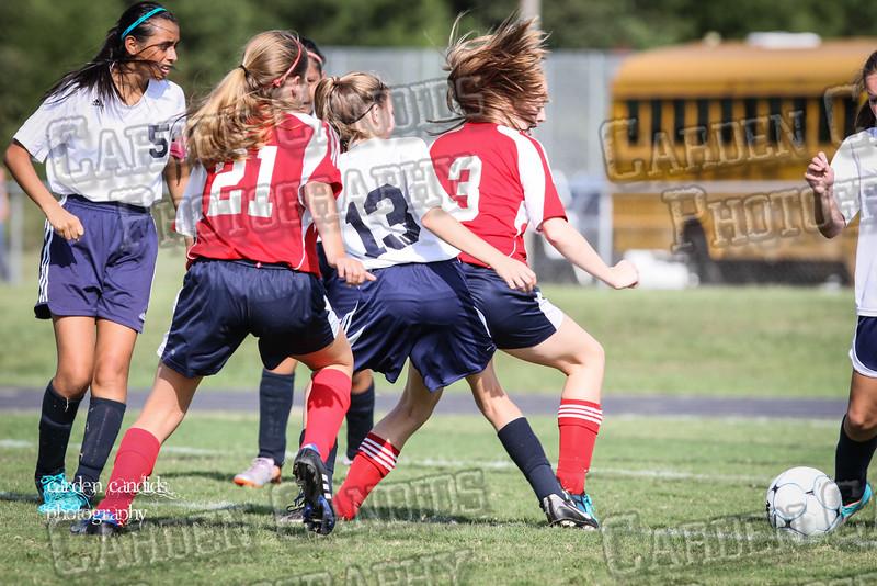 North Davie Girls Soccer vs Forbush 9-11-14-013