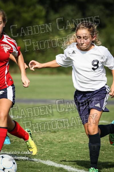 North Davie Girls Soccer vs Forbush 9-11-14-007