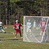Stow's Max Ducette add's to the Nashoba score with an assist from Andrew Slattery