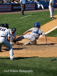 Melky Cabrera Sliding