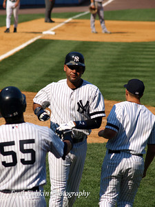 Derek Jeter Crosses Home