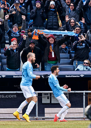 NYCFC vs NE Revolution MLS Home Opener Yankee Stadium
