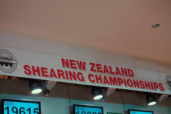 NZ Shearing Championships