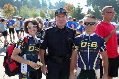 Organizers Kim Gard, Ian Craib and Joe Gard