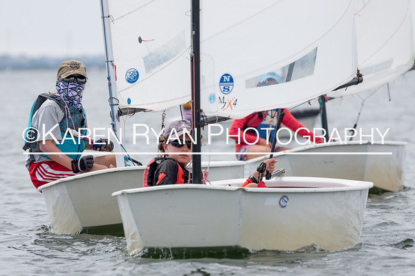 Nantucket Race Week Opti 2017