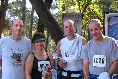 Napa Valley Trail Half Marathon 2005