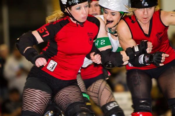 Roller Derby - Naptown Roller Girls, April 17, 2010